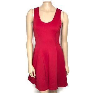 NWT Francescas Size Medium Red Sheath Dress